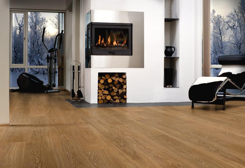 Podłoga dębowa olejowana Oak Grey - Boen