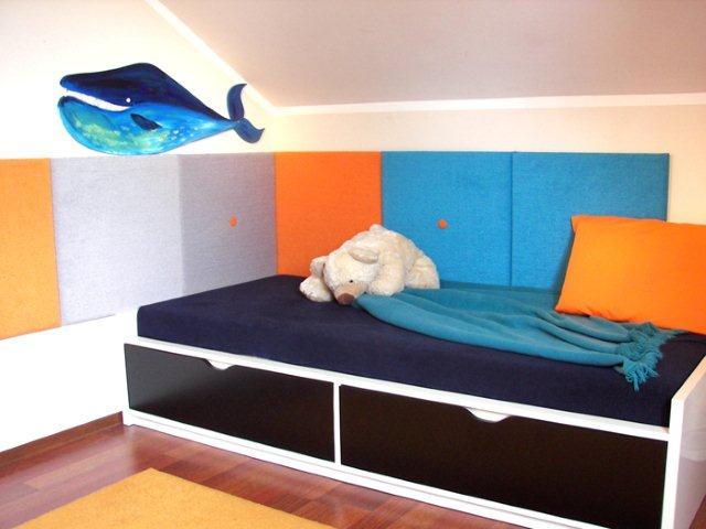 Panele cosywall na ścianie w pokoju dziecięcym