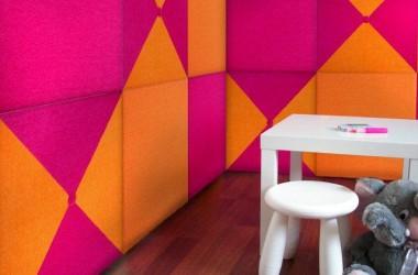 Panele na ścianę – tapicerowane