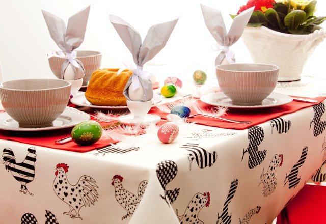Zające z serwetek :) Jajeczne dekoracje na Wielkanoc