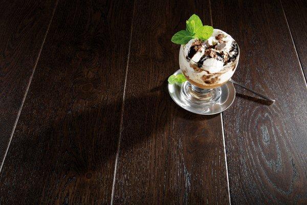 Podłoga dębowa, w odcienie czekolady - Affogato Grande, Barlinek