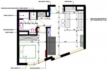 Aranżacja mieszkania 44 metry kwadratowe