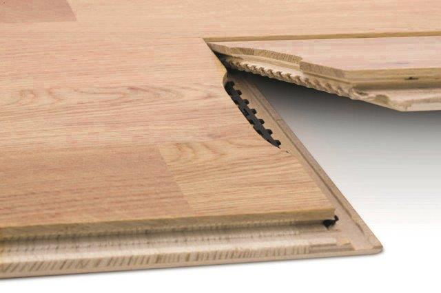Złącze podłogi z deski barlineckiej