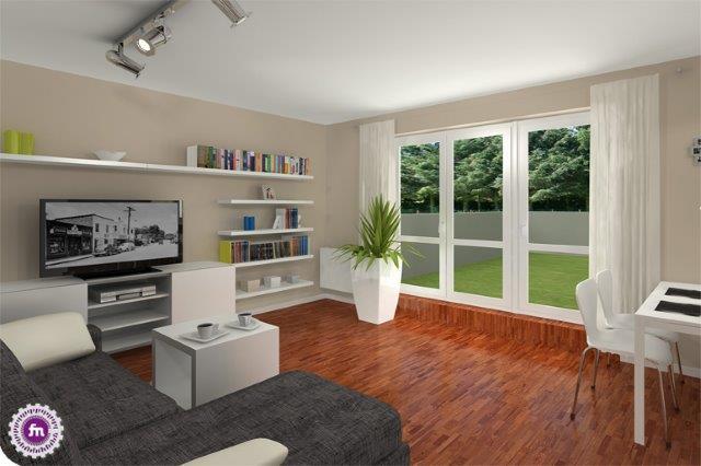 36 metrowe mieszkanie zaprojektowane przez Fabrykę Nastroju