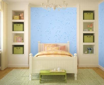 Jeger Kids - niebieskie gwiazdki idealne do sypialni chłopca