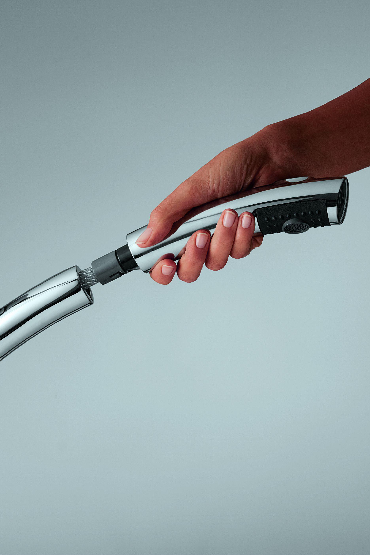 KLUDI TRENDO bateria kuchenna z wyciąganą rączką natrysku
