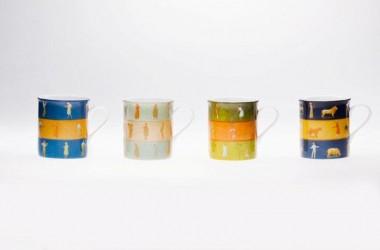 Kubki z limitowanej serii porcelany Gerlach