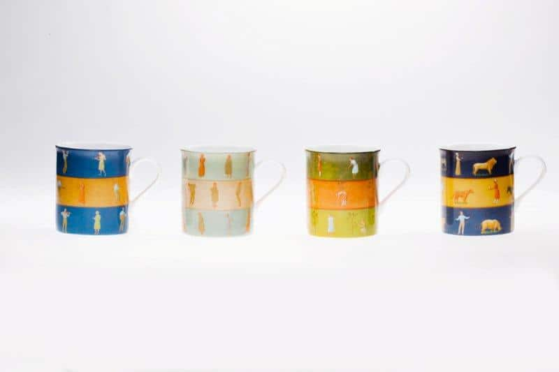 Seria kubków z porcelany Designer Collection Gerlach