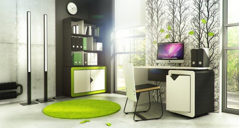 Młodzieżowy pokój do pracy