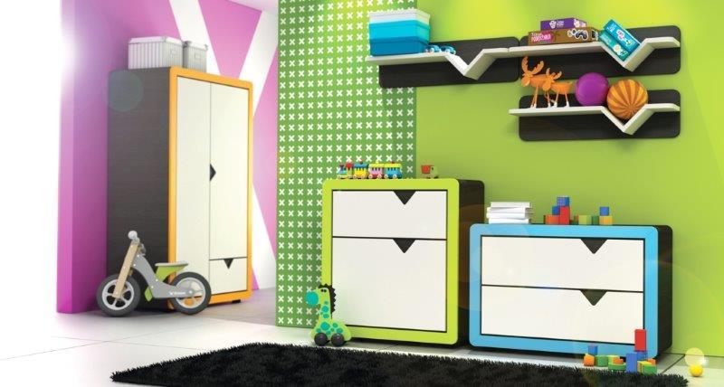 Pokój dla młodszych dzieci