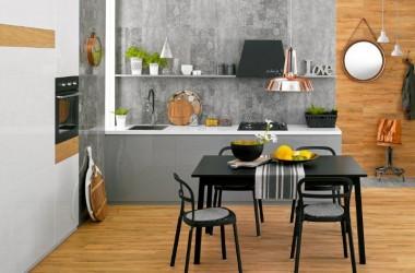 Glazura czy beton – pomysł na nowoczesną kuchnię