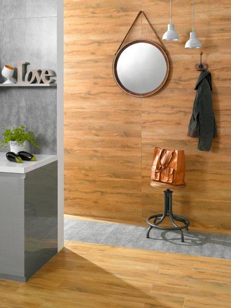 kolekcja Loft marki Ceramstic - imitacja betonu i drewna