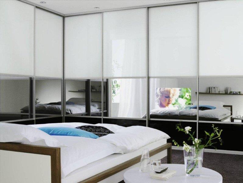 Szafa z lustrami powiększy nam pomieszczenie