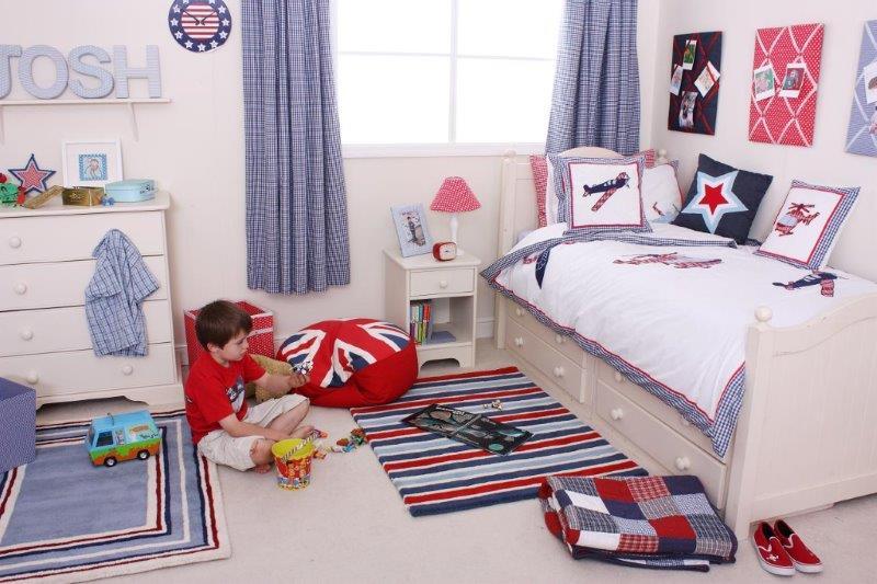 Pokój chłopca w stylu Aeroplane - tkaniny i dodatki My Room