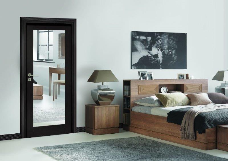 Drzwi Classic w sypialni