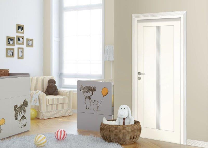 Drzwi w pokoju dziecięcym