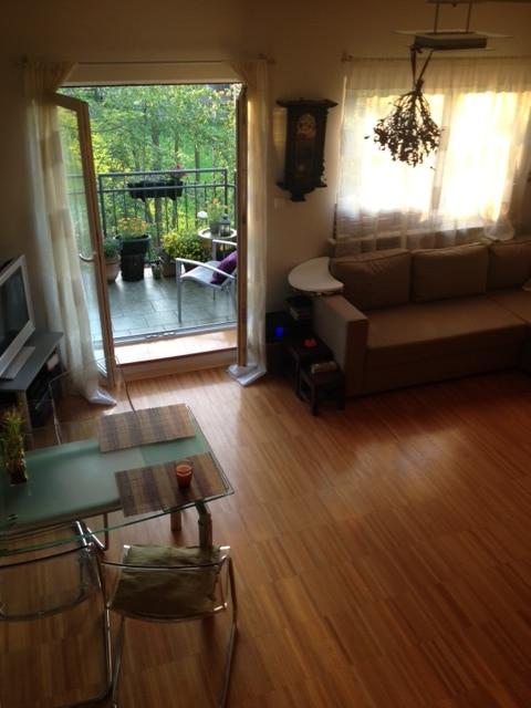 Zdjęcie salonu - widok ze schodów (zdjęcie właścicieli)