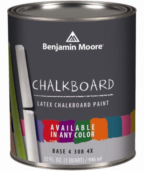 Farba tablicowa firmy Benjamin Moore