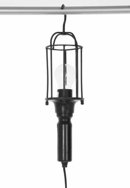 Lampa sufitowa, z haczykiem do zawieszenia np. na drążku, 179 zł, Zalando