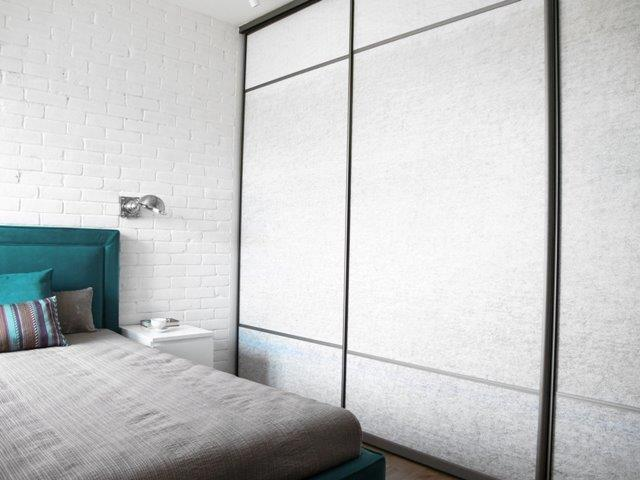 Metamorfoza Benjamin Moore - szafa w sypialni