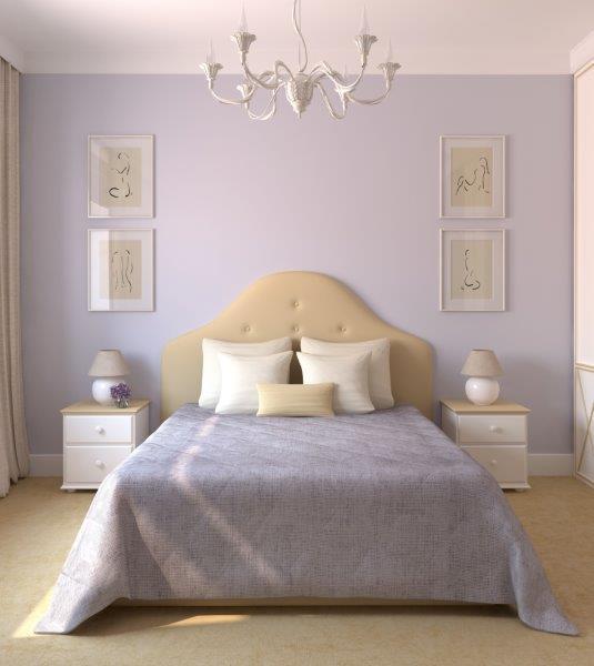 Dekoracje w sypialni powinny być spokojne, sprzyjające relaksowi, fot. Porta