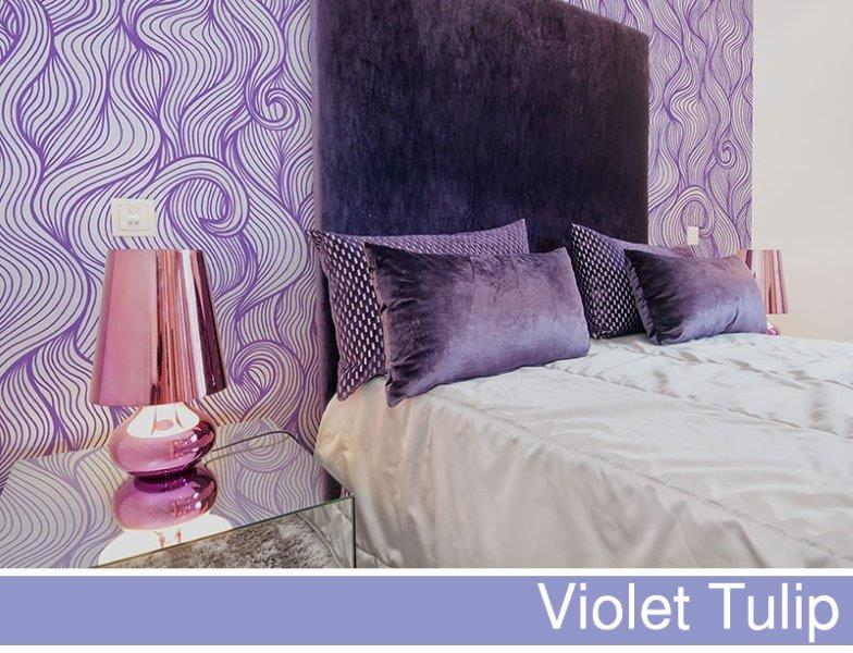 Fototapeta big-trix.pl - violet tulip