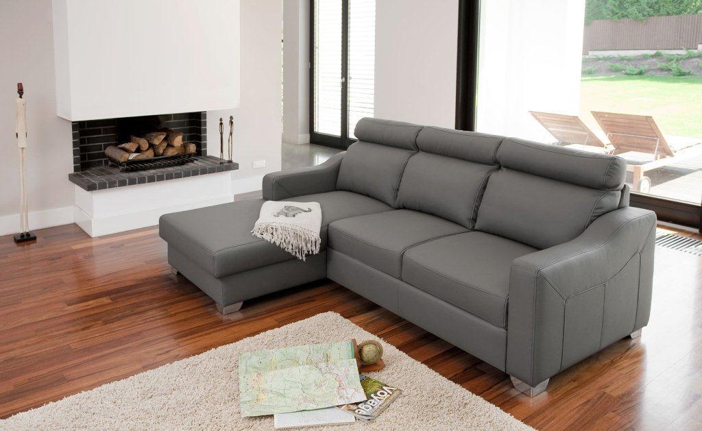 Narożnik Belmonte marki Bizzarto. Kolekcja Belmonte jest bardzo miękka i wygodna. Ich dodatkową zaletą jest funkcjonalność - zarówno narożnik, jak i sofa mają funkcję spania.
