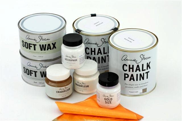 Farby kredowe Chalk Paint™ decorative paint by Annie Sloan oraz woski do drewna