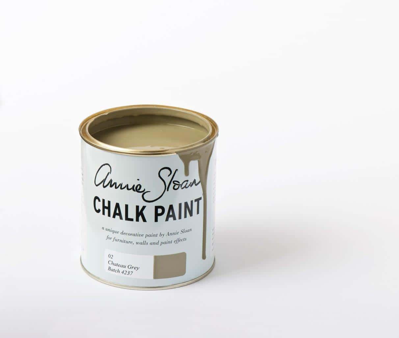 Farba do mebli Annie Sloan kolor Chateau Grey