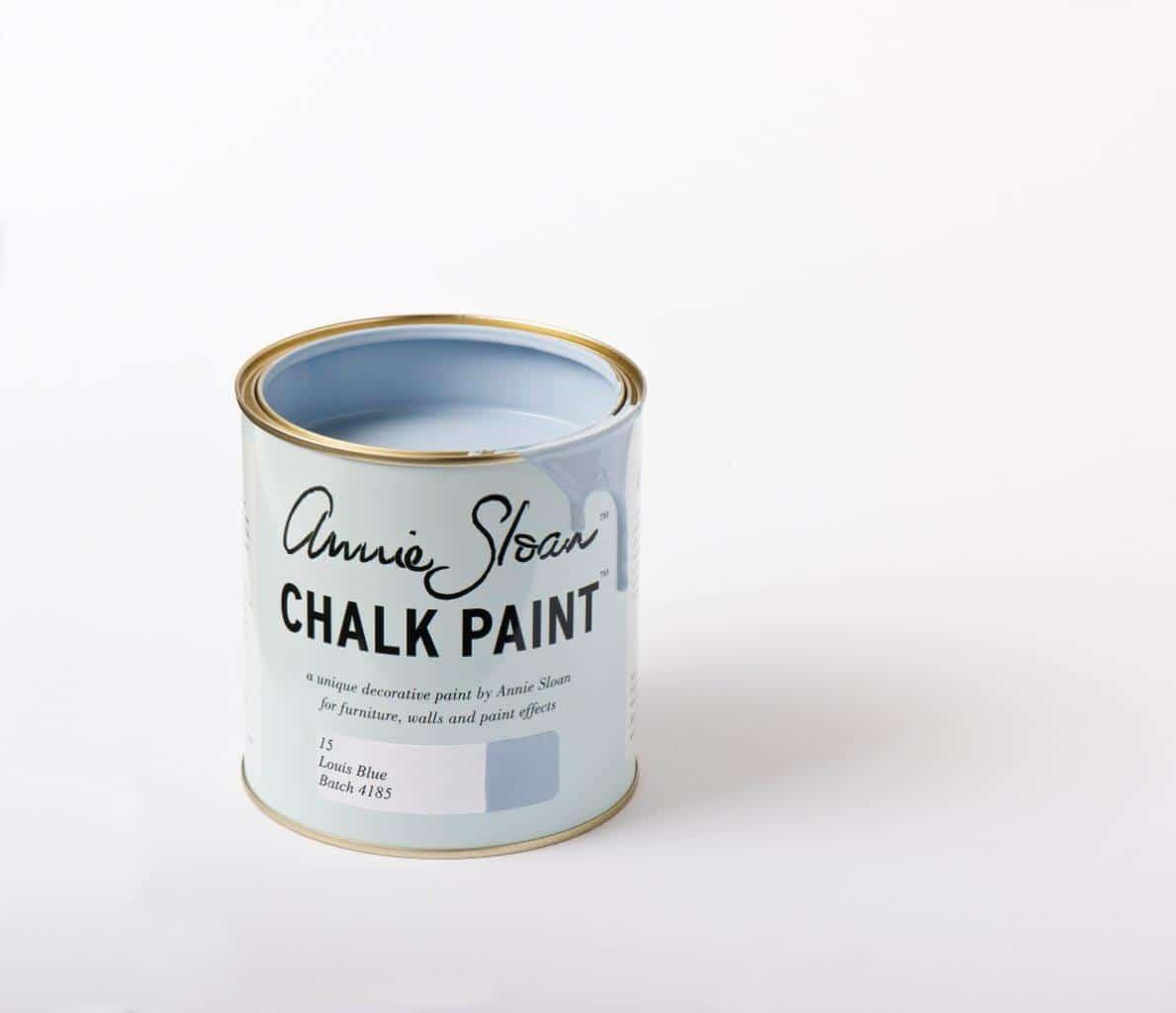 Farba do mebli Annie Sloan kolor Louis Blue