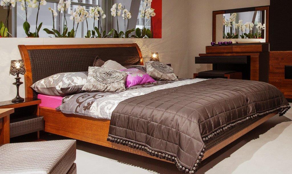 Klasycznie urządzona sypialnia Verano firmy Mebin