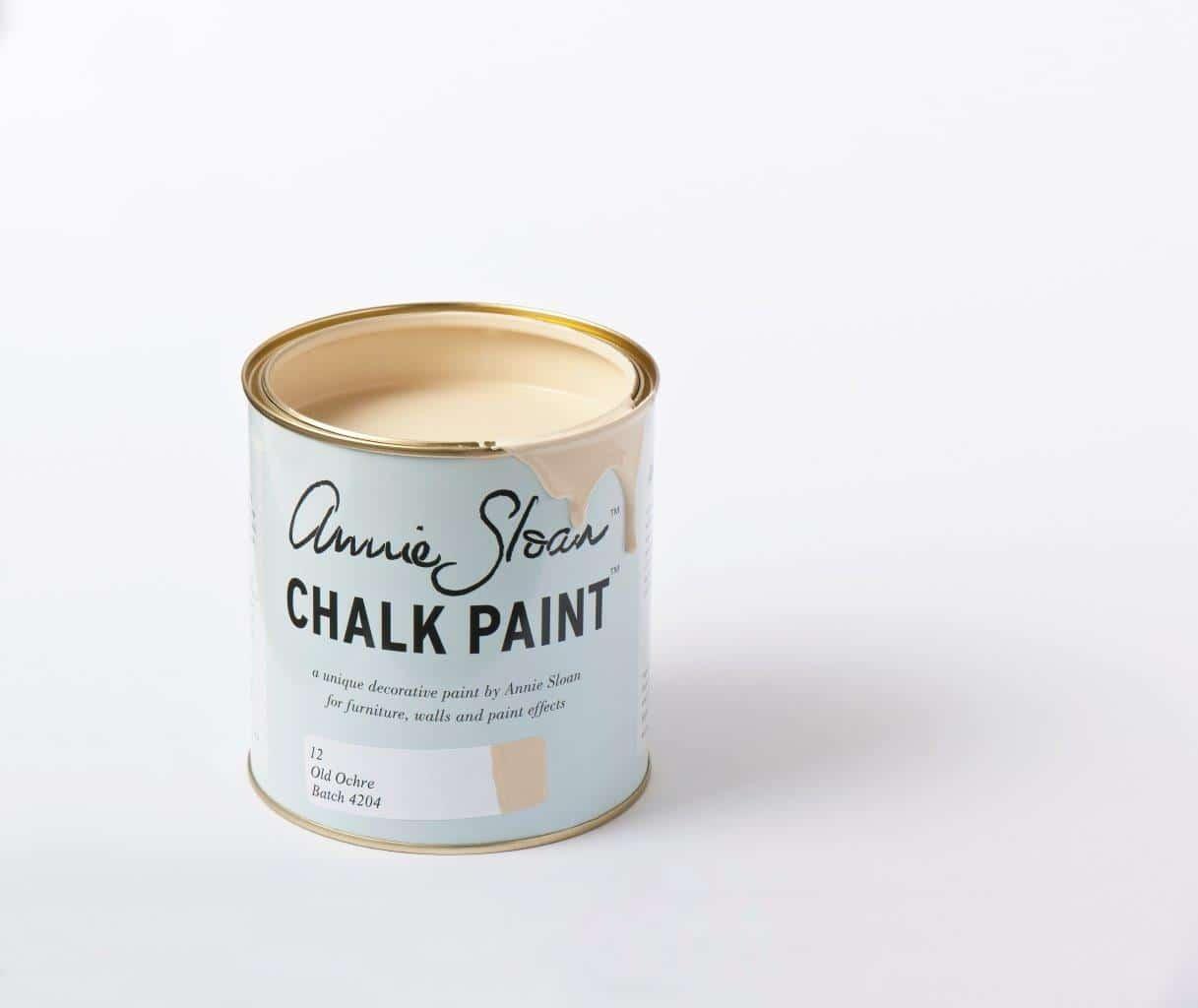 Farba do mebli Annie Sloan kolor Old Ochre