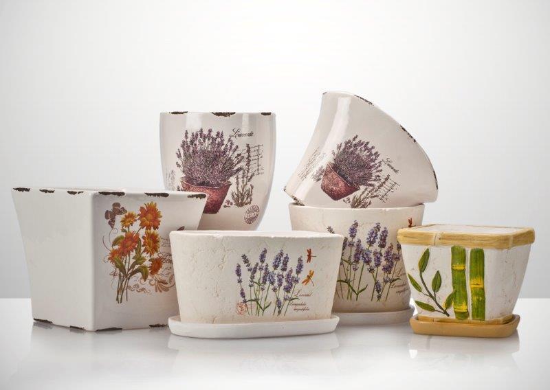 Ceramiczne doniczki Galicja