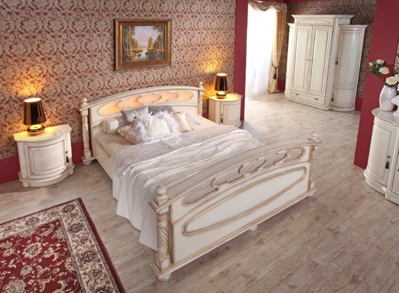Sypialnia Opium marki Mebin