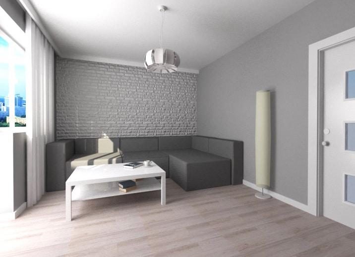 Pokój I Sypialnia W Jednym Małe Mieszkanie