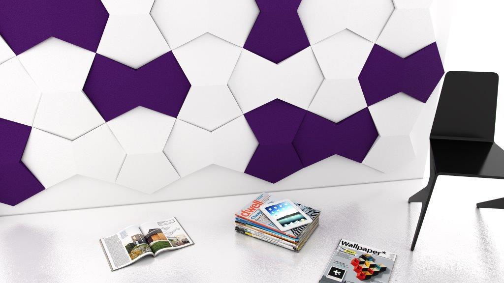 Miękkie panele ścienne 3d Fluffo kolekcja CHAIN