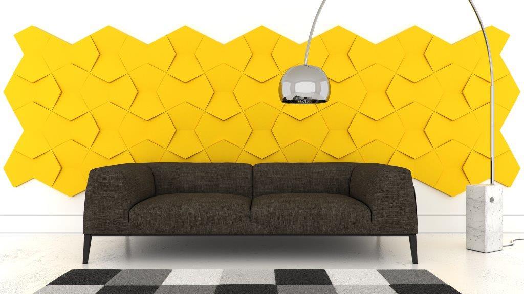miękkie panele ścienne 3d Fluffo kolekcja NEXUS