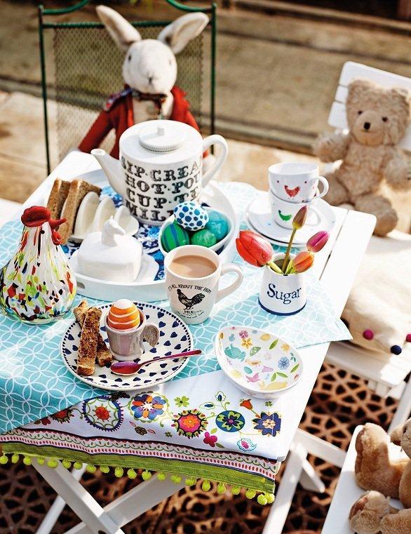 Wielkanocna dekoracja - wykorzystane produkty TK Maxx