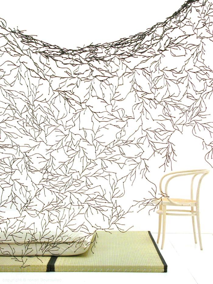 Ażurowa ścianka z Alg firmy Vitra. Projekt braci Ronana i Erwana Bouroullec. Fot. GRshop.com