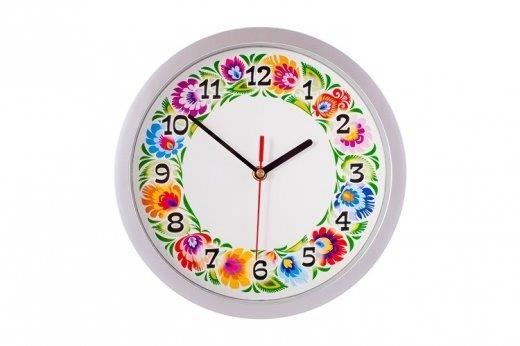 Zegar w stylu folk - fot. Etnobazar