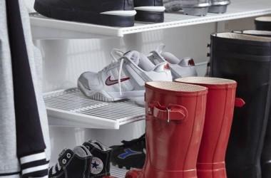 Miejsce na buty; przechowywanie butów