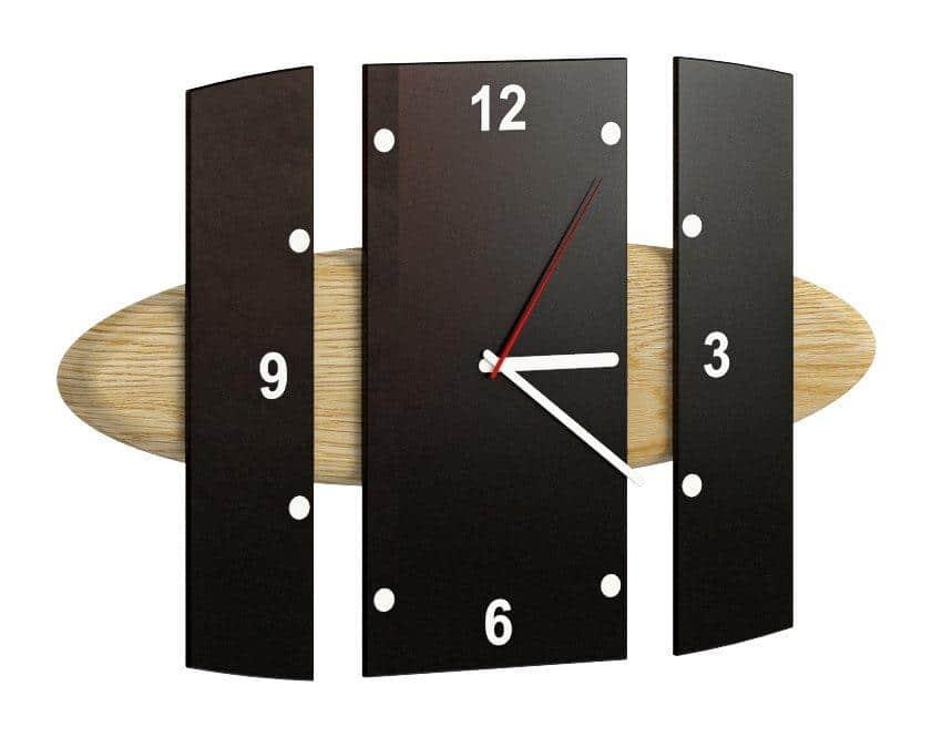 Zegar wiszący Elisse; Mebin