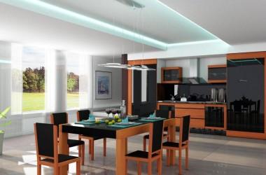 Otwarta kuchnia – meble kuchenne