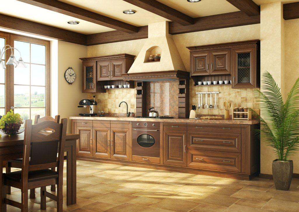 Kuchnia otwarta Toskania firmy Mebin