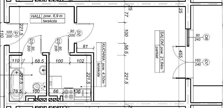 plan mieszkania 37 metrów