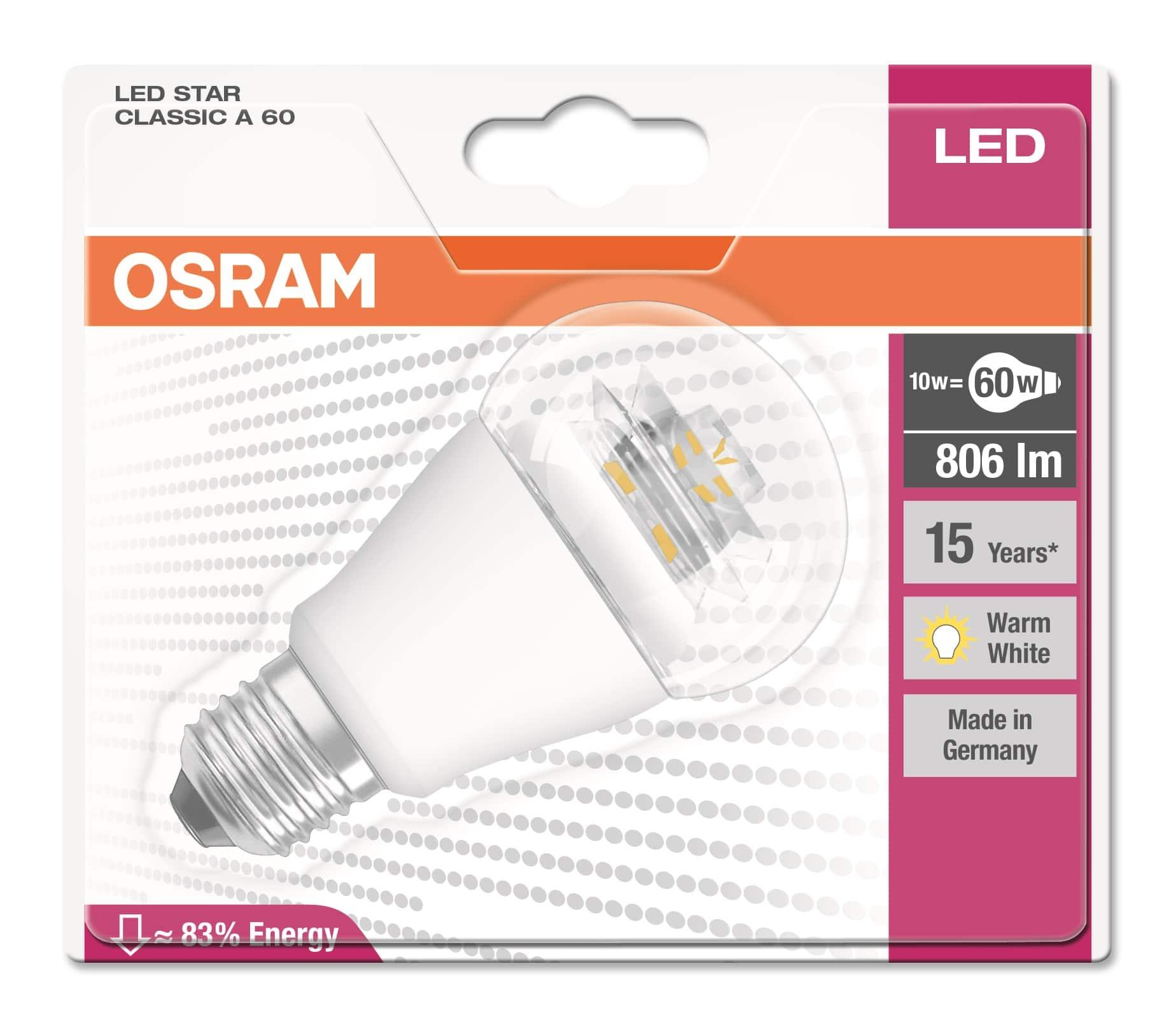 diody LED zalety
