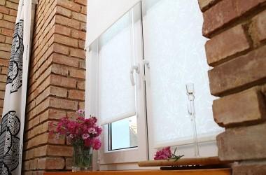 Rolety okienne do wnętrz nie całkiem klasycznych