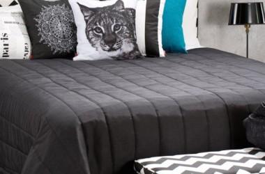 Łączenie czarno-białych wzorów na tkaninach