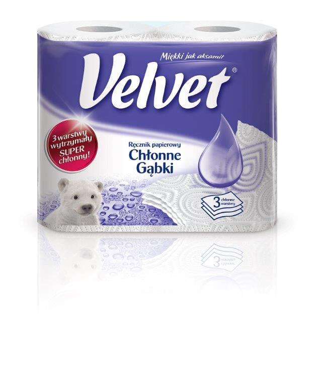 Chłonne ręczniki Velvet