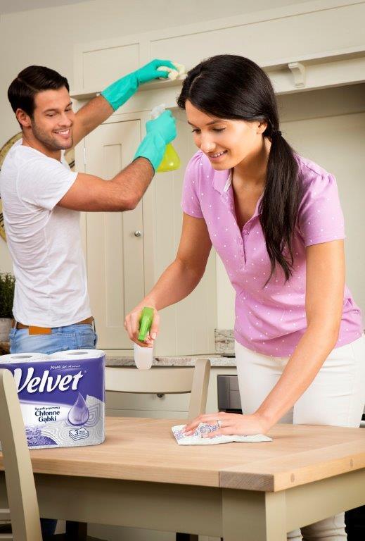 sprzątanie Velvet